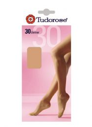 Tudorose 30 Denier Tights, One Size (36 To 42 Hips)