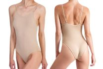 Womens Silky Dance Seamless Low Back Camisole Nude