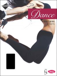 Womens Silky Dance 60 Denier Footless Tights Black