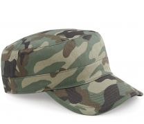 Beechfield Camouflage Field Camo Jungle Urban Army Cap Hat BC33 Military Cotton