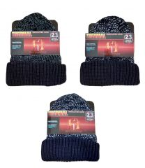 Heat Insulators Thermal Insulated 2.3 Tog Marl Knit Beanie Hat