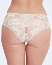 Charnos Grace Lace Back Brief - Nude
