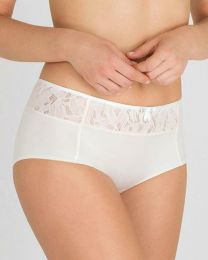 Playtex Ideal Beauty Lace Brief - White Blush