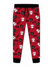 Star Wars Mens Red Empire Lounge Pants