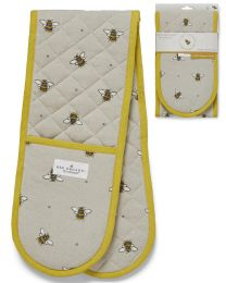 Cooksmart Bumble Bees Double Oven Glove