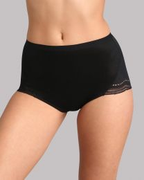 Playtex Secret Comfort Maxi Brief - Black