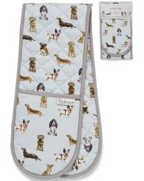 Cooksmart Curious Dogs Double Oven Glove