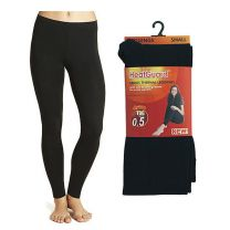 Ladies Heatguard 140 Denier SK134A Tog 0.5 Thermal Leggings