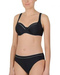 Naturana Underwired Bikini Set - Black