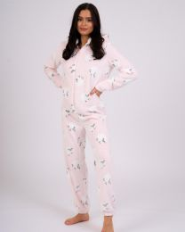 Loungeable Pink Sheep Print Onesie