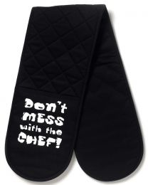 Cooksmart Don't Mess With The Chef Double Oven Glove