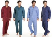 Haigman Poly Cotton Long Sleeve Pyjamas