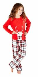 Girls Selena Girl Penguin or Reindeer Pyjamas KN183