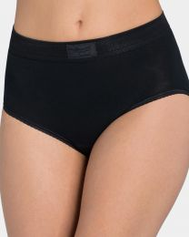Sloggi Double Comfort Maxi Brief - Black