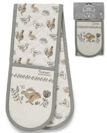 Cooksmart Country Animals Double Oven Glove