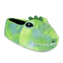 Childrens Dinosaur Head Slipper FT1232GN Green