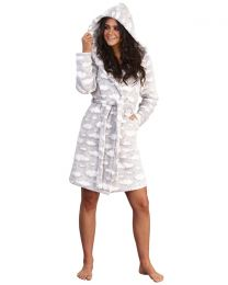 Loungeable Grey Cloud Robe