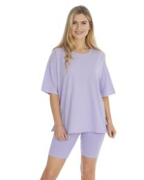 Forever Dreaming Jersey Lounge Set - Lilac