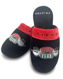 Friends Black Central Perk Slippers