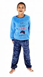 Boys Masq Gaming Pyjamas KN213 Blue
