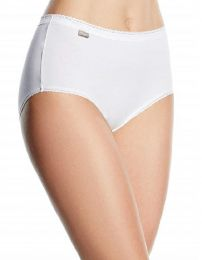 Playtex 2 Pack Cotton Midi Briefs - White