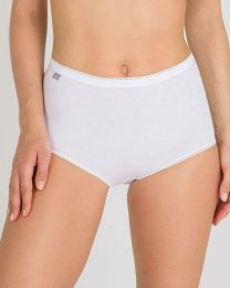 Playtex 6 Pack Cotton Maxi Brief - White