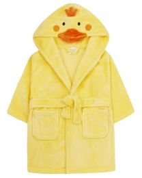 Kids Duck Fleece Robe
