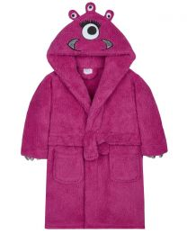 Kids Pink  Monster Robe