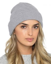 Foxbury Thermal Lined Chenille Hat - Grey