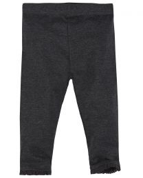 Baby Soft Jersey Leggings - Charcoal
