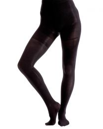 Couture Body Shaping Opaque Tights - Black