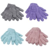 3 Pairs Girls Thermal Snow Soft Magic Gloves