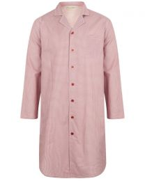 Walker Reid Cotton Geo Print Nightshirt - Red