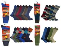 Mens Heat Machine 2.3 Tog Thick Thermal Winter Knitted Socks