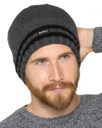 HeatGuard Thinsulate Lined Hat - Grey