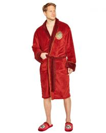 Harry Potter Hogwarts Express Fleece Bathrobe