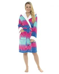 Foxbury Multicoloured Unicorn Dressing Gown