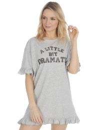 Forever Dreaming Slogan Nightie - Grey