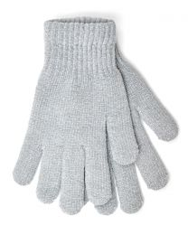 Foxbury Thermal Lined Chenille Gloves - Grey