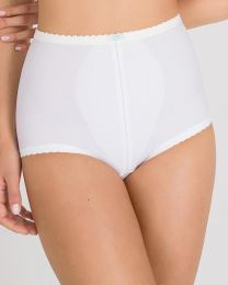 Playtex I Can't Believe It's A Girdle Brief - White