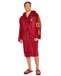 Harry Potter Quidditch Fleece Bathrobe
