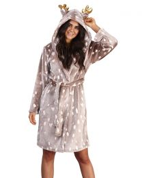 Loungeable Reindeer Dressing Gown