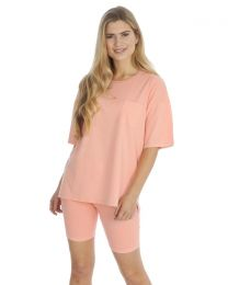 Forever Dreaming Jersey Lounge Set - Peach
