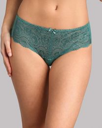 Playtex Flower Elegance Lace Brief - Deep Green