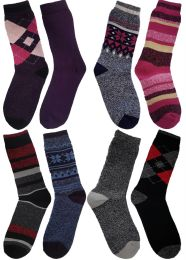4 Pairs Mens Ladies Unisex Warm 1.6 TOG Rated Thermal Socks