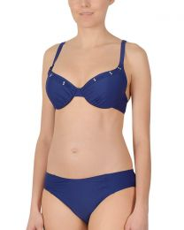 Naturana Underwired Padded Bikini Set - Navy