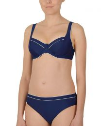 Naturana Underwired Bikini Set - Navy