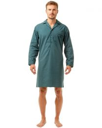 Haigman Poly/Cotton Nightshirt - Teal
