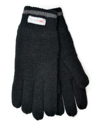HeatGuard Thinsulate Lined Gloves - Black