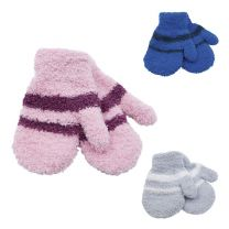 2 Pairs Babies/Toddlers Undercover Soft Touch Magic Mittens